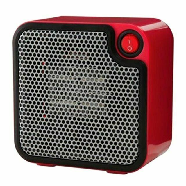 Mainstays DQ1723-R Mini Ceramic Heater - Red