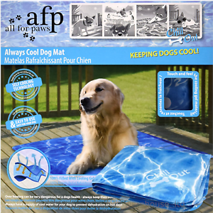 All-For-Paws-AFP-Chill-Out-Always-Cool-Dog-Puppy-COOLING-MAT-Medium-Large