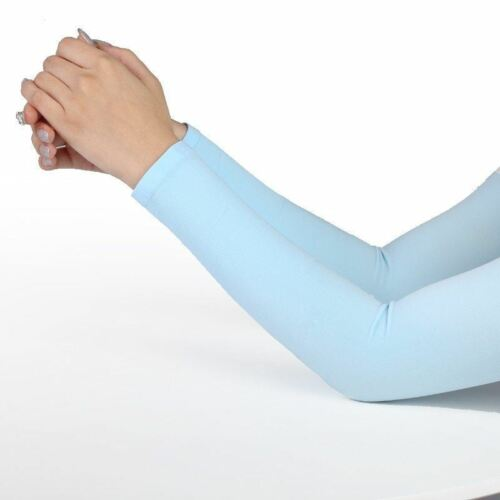 Men Women Arm Sleeves Summer Sun UV Protection Cycling Running Fishing Clambing