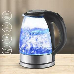 Sherwood-Cool-Blue-Glass-Kettle-1-7-Litre-Capacity-360-Rotational-base-NEW
