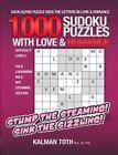 1000 Sudoku Puzzles with Love & Romance by Kalman Toth M a M Phil (Paperback / softback, 2013)