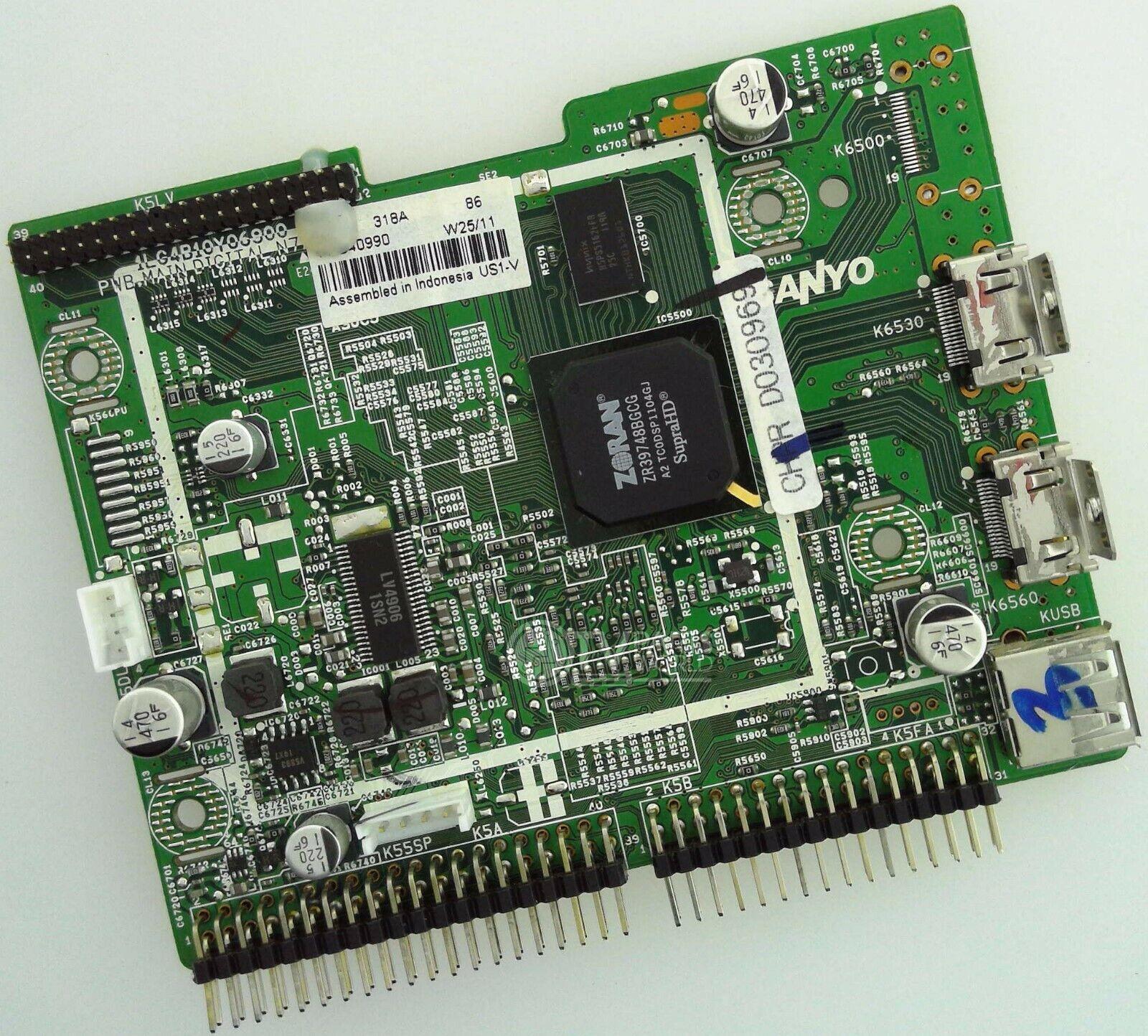 SANYO 58 DP58D33-01 1LG4B10Y1170A 1LG4B10Y117000 Z7GA Digital Main Board