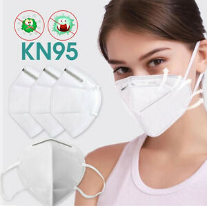 KN95 Certified Respirator Protective Face Mask GB2626-2006 Standard 5 / 10 / 50