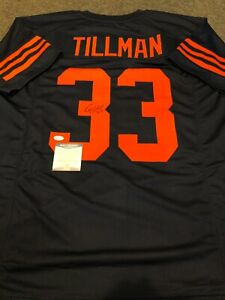 Details about CHICAGO BEARS CHARLES TILLMAN AUTOGRAPHED SIGNED JERSEY BECKETT COA