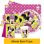 Tableware /& Decorations Disney MINNIE MOUSE BOW-TIQUE Birthday PARTY Range