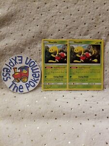 Pokemon-TCG-2x-Shuckle-16-214-Lost-Thunder-Mint-Grass-English-Uncommon