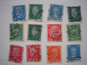 Weimar Republic stamps 12