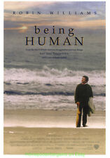 BEING HUMAN MOVIE POSTER Original 27x40 ROBIN WILLIAMS 1993 COMEDY