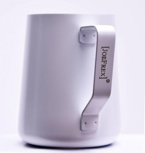 JOE FREX Milchschaumkännchen mit Pulverbeschichtung weiss 590ml