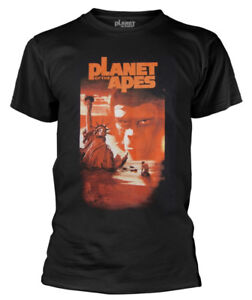Planet Of The Apes 'Liberty Duo Klang 'T-Shirt - Neu und Offiziell