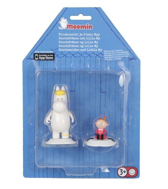 Moomin Game Room Figures Snorkmaiden Little My Martinex