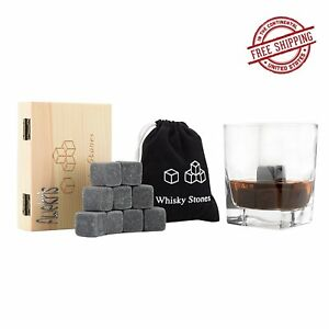 set Of 9 Buy Cheap Zcutt Premium Whiskey Stones includes Carrying 100% Pure Soapstone
