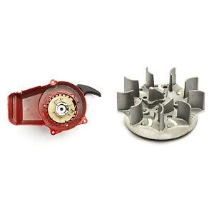 Red-Metal-Pull-Start-Pullstart-Performance-Flywheel-Mini-Moto-Dirt-Bike-49cc