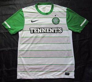 9ef8e8c67e4 CELTIC GLASGOW away shirt by NIKE 2011-2012 The Bhoys Hoops Celts ...