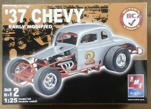 37 Chevy Early Modified Amt Plastic Model Car Kit 1937 Ebay