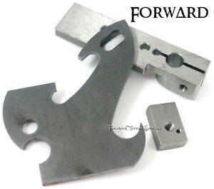 Tattoo Machine Frame Parts Base, Spring Shelf, Bio Side Plate 1018 Steel USA