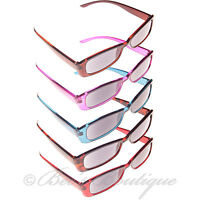 Reading Sunglasses Plastic Frame +1 +1.5 +2 +2.5 +3 Mens Ladies Sun Glasses Spec