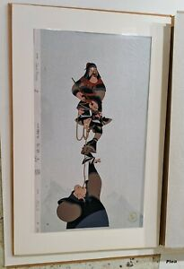 Rare Large Walt Disney Animation MULAN Ling Chien-po LIMITED EDITION CEL #74/96
