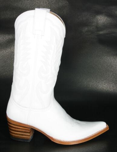 5335 Sendra Cowboystiefel ALMA X Blanco Weiss Rahmengenäht