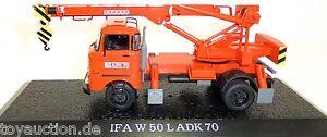 W50-Ladk-70-Ifa-Camions-Tarkraf-1-43-atlas-7486001-Neuf-Emballage-Scelle-HR1