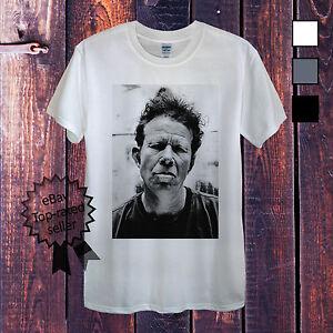Tom-Waits-T-Shirt-For-Men-Women-or-Unisex-White-Grey-Music-Legend-Vintage-Retro