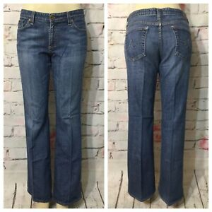 AG-Adriano-Goldschmied-The-Club-Mid-Rise-Flare-Stretch-Jeans-Size-32-X-31