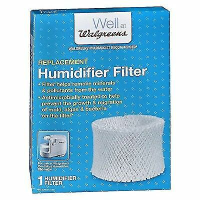 Walgreens Cool Humidifier Filter W889 WGN 890 LEV320 DCM 200 HCM