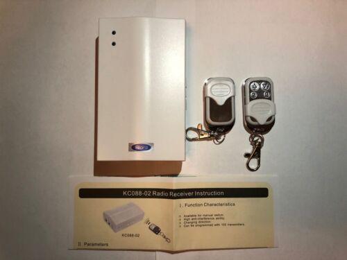 2 telecomandi per le porte dell/'otturatore 2nd Gen Sono Ellard ATHENA Remote Control System