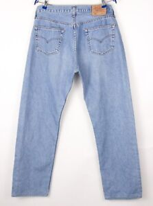Levi's Strauss & Co Hommes 501 Jeans Jambe Droite Taille W36 L32 BBZ531