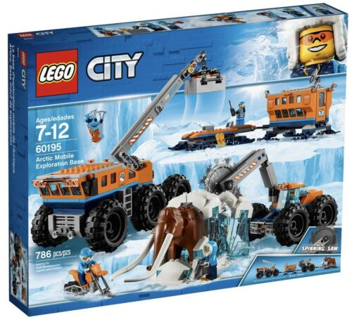 *BRAND NEW* Lego City Set #60195 Arctic Mobile Exploration Base ~Retired~