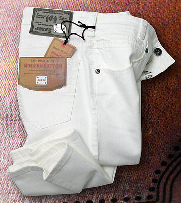 JOKER Jeans FREDDY weiß / white mit Stretchanteil
