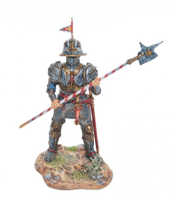 Tin Soldier, top quality, a knight knight knight in full armor № 19, 54 mm,tourney,Middle Ages 85517a