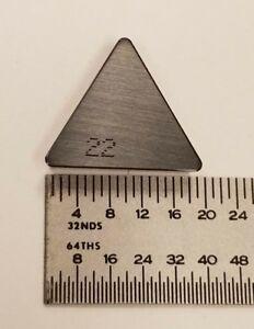 TPGH-322 Grade C2 Carbide Inserts 10 pcs.