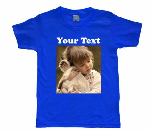 FOR KID/'S YOUTH/'S DTG CUSTOM DESIGN DIRECT DIGITAL PHOTO PRINTING COLOR T-SHIRT