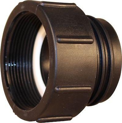 2 Stück 1000L IBC Garten Wassertank Schlauch Adapter Fitting 60mm Reduzierstück