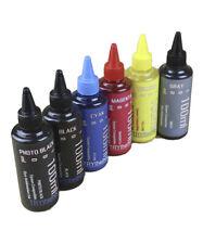Dye Sublimation Ink 6 100ml Bottles For Epson Ecotank Et 8500 Et 8550 Non Oem