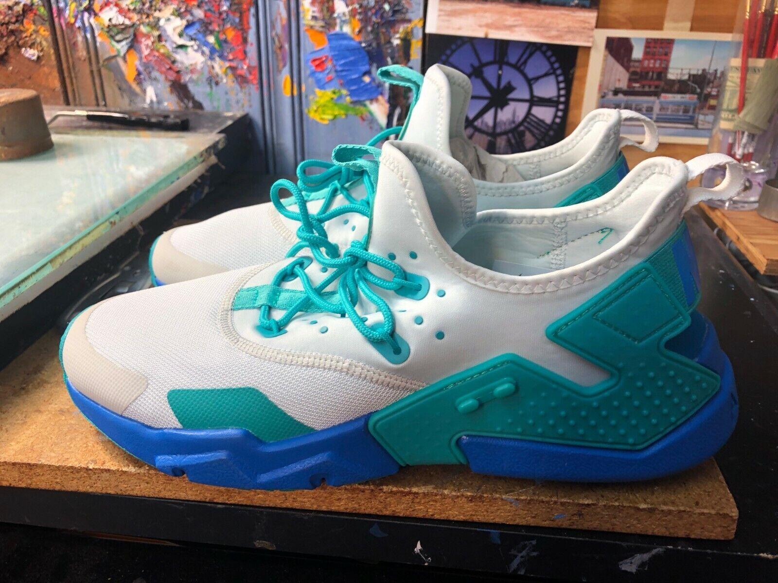 Nike Air Huarache Drift Barely Green bluee Orbit  Size US 11 Men AH7334 006 New