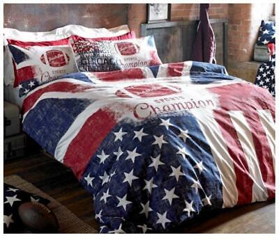 JACKSON USA Bedding Duvet Cover Set! VARSITY American Freshman CARTER