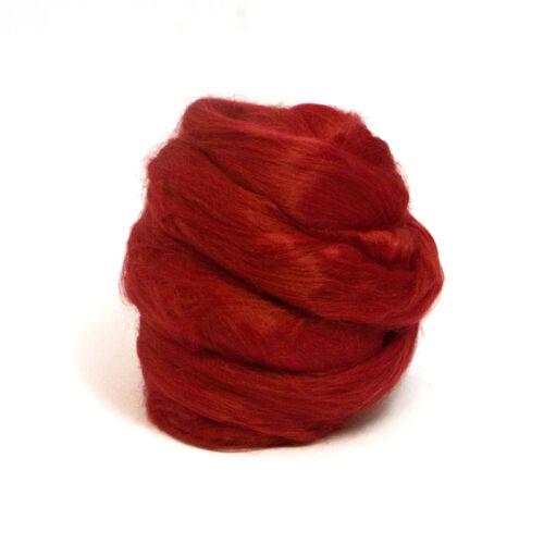 Heidifeathers ® teint Bambou Fibres-feutrage et Spinning-Vous Choisissez La Couleur