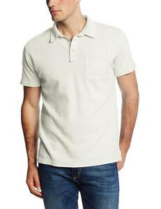 Lucky-Brand-Double-Knit-Men-s-Super-Soft-100-Cotton-Jersey-Polo-Shirt-NEW-L
