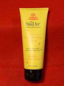 Naked Bee Grapefruit Blossom Honey Hand Lotion (small) 2