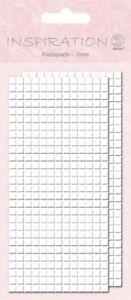 las almohadillas adhesivas 2x 364 unidades Ursus 3mm de alto 5x5mm
