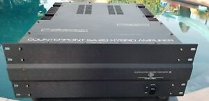 Counterpoint-SA-20-Hybrid-Tube-Mosfet-Stereo-Power-Amplifier-Amp-Rare-Siemens