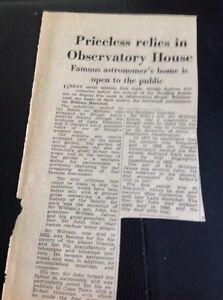 L1-9-Ephemera-1953-Article-Observatory-House-Windsor-Road-Slough-Herschel