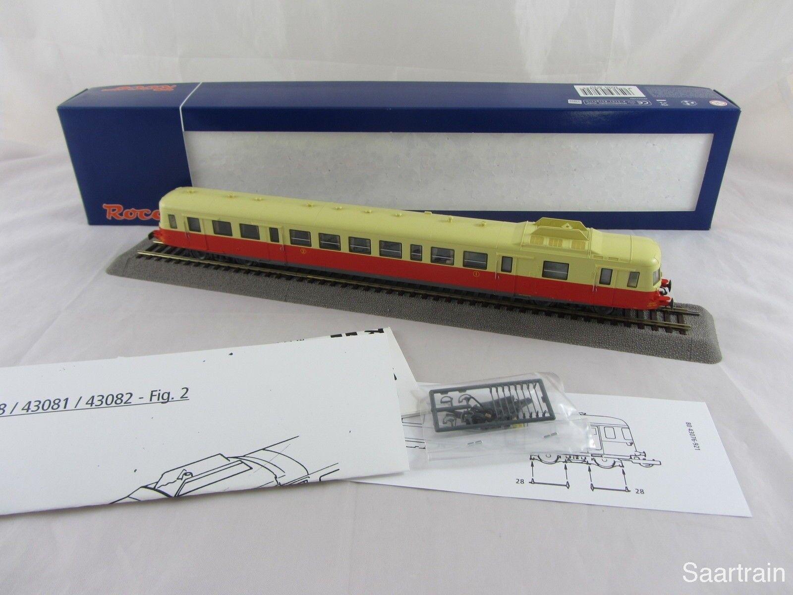 80% de descuento Roco 43082 43082 43082 dieseltriebwagen 2888 de la SNCF en rojo beige nuevo y con embalaje original  barato y de alta calidad