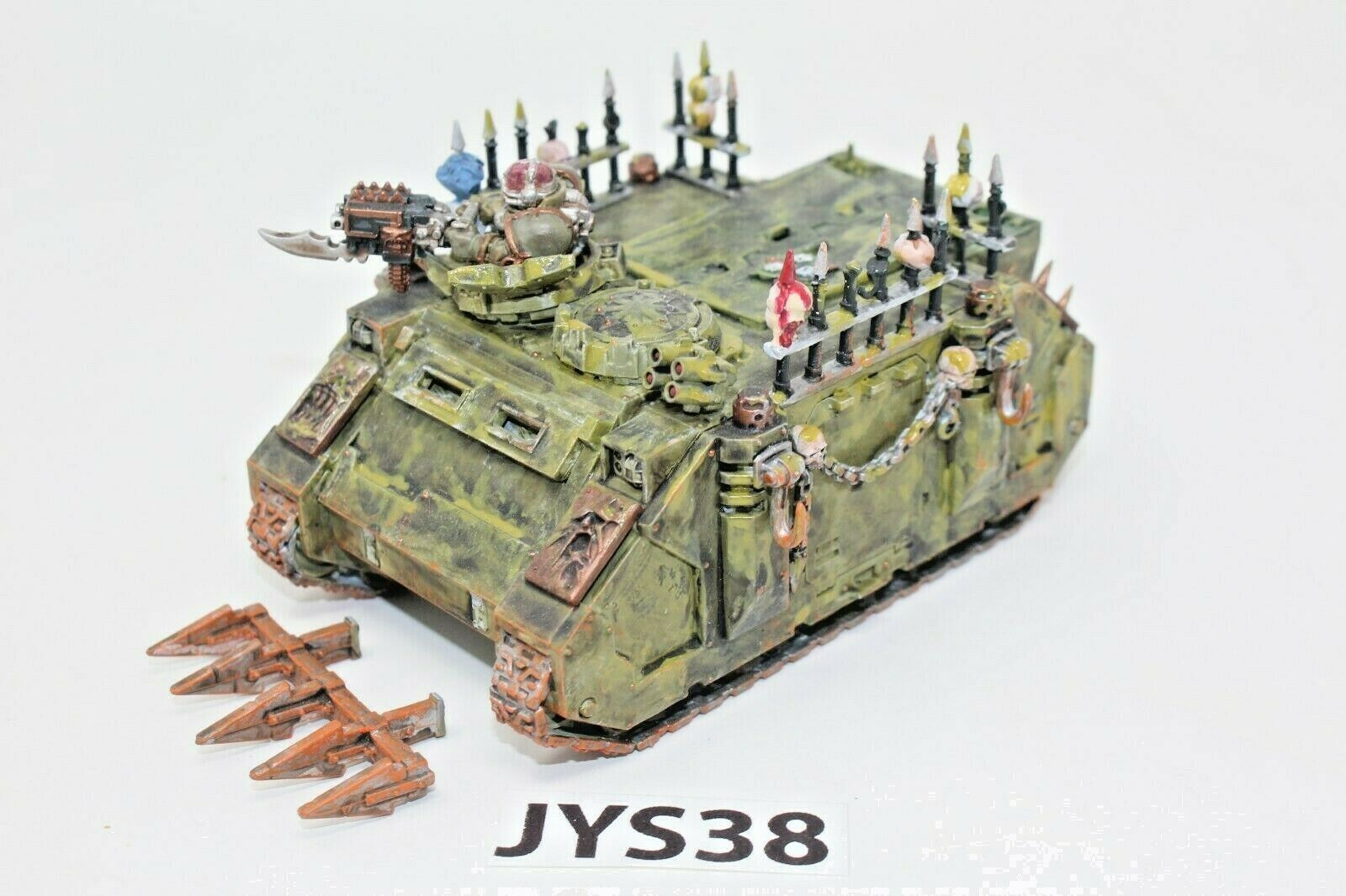 Warhammer Chaos Space Marines Death Guard Rhino - JYS38