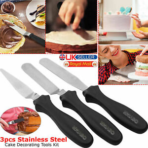3pcs-Stainless-Steel-Spatula-Palette-Knife-Set-Cake-Decorating-Smooth-Tools-Kit