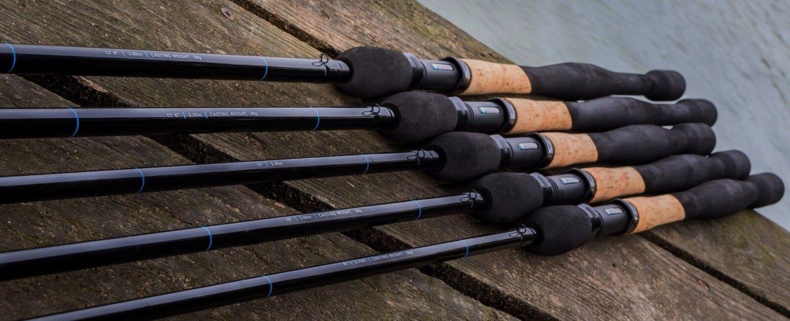 Preston Innovations Carbonactive Supera Match Fishing Rod Range
