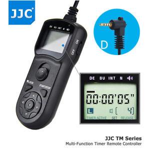 JJC Timer Remote Control for Panasonic DMC-GH5 GH4 GH3 GX8 GX7 G10 G7 GF1 DC-S5