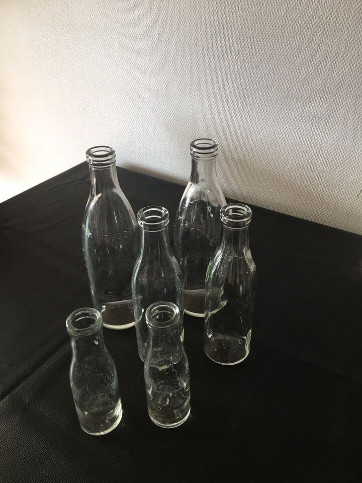 Flasker, Glas